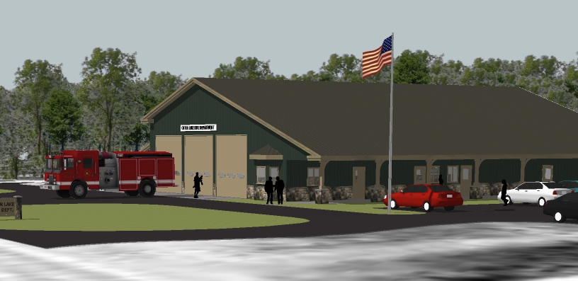 Building Plans Set For New Otter Lake Fire Station