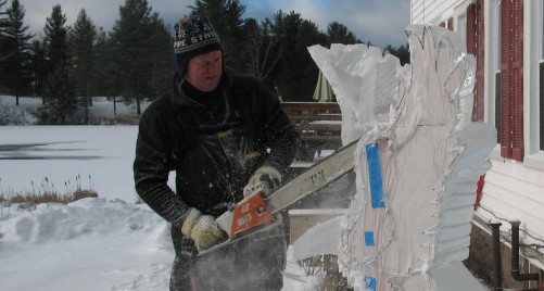 Ice Sculpture Work