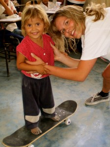 Chantelle in Honduras