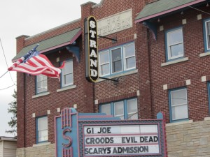Old Forge's Strand Theater. Photo by Dana Armington