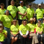 Raquette Lake Community Pride volunteers, front row from left, Jenn & Autumn Miller, Peggy Deyle, Liz Beckingham, Mindy Hoegerl, Elaine & Avery Pohl, Donna Pohl, and Lyn Muxworthy. Back Row: Gary Miller, Jay Cummings, Deb Evans, Tom Beckingham, Phil Jankiewicz, George Moore, Beverly Moore (kneeling), Ken Hawks, and Pat Deyle. Missing from photo are Mary Lamphear, Dean Pohl and Rachel Pohl. Courtesy photo