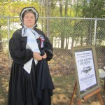 Suellen Leonik in Civil War era civilian outfit. Photo by Wende Carr