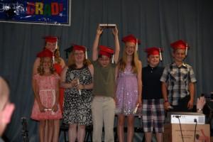 From left, Britney Levi, Alex Sutherland, Jamie Gaffney, Cullen Rose, Melissa Hoffman, Joesph Townsend, and Sean Manzi