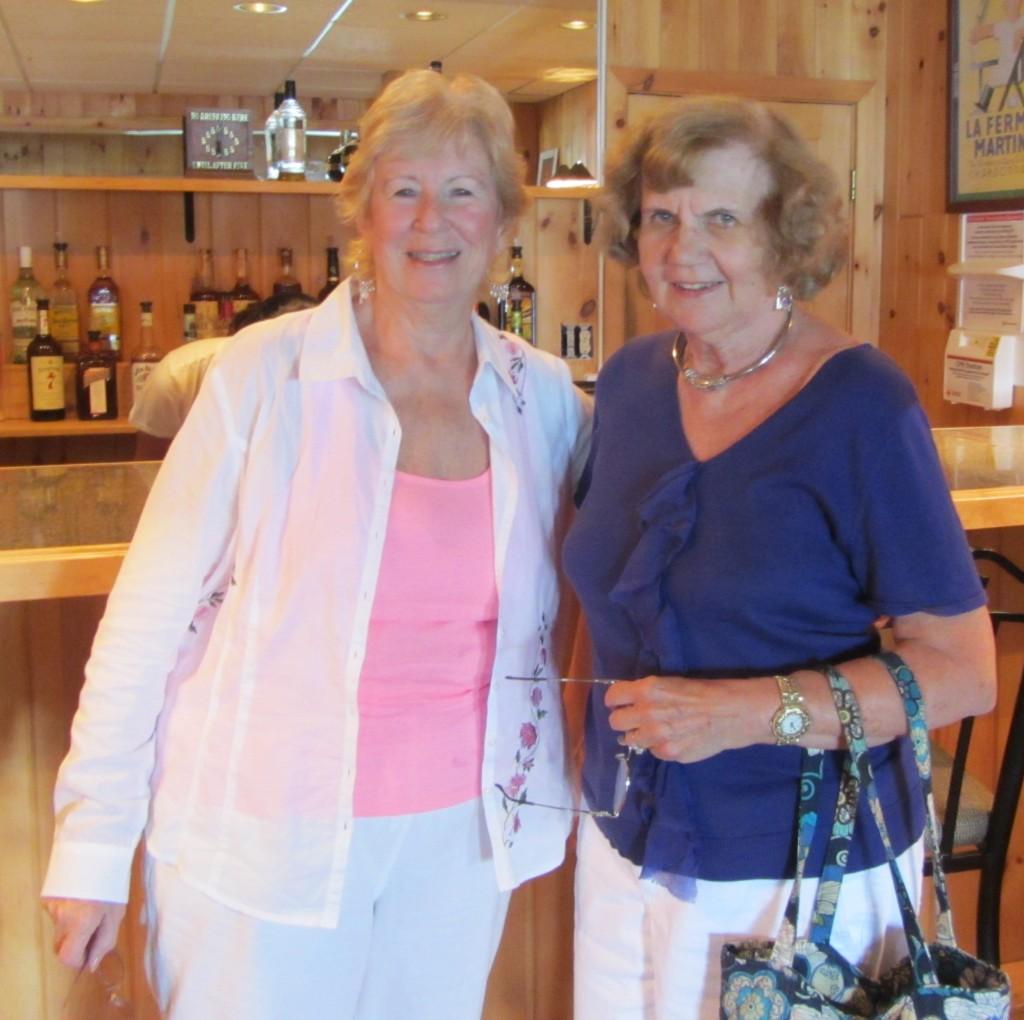 Jackie Monohan, left, and Barbara Borham. Photos by Dana Armington