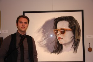 View Intern Nicholas Daniluk who received theOutstanding Portrait Award
