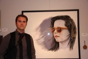 View Intern Nicholas Daniluk who received theOutstanding Portrait Award