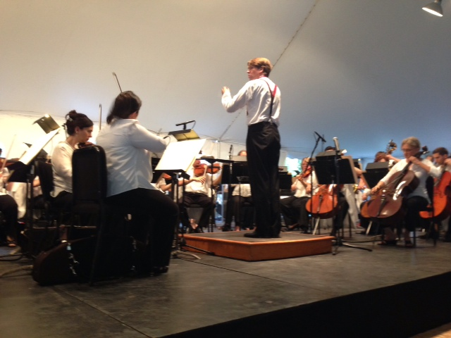 Michael Butterman conducs the Rochester Philharmonic Orchestra