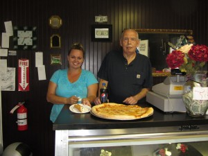 Kim O'Grady and James Riley, Owners of Buddy's Pizza Plus
