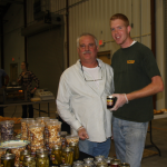 Jim Matteson, left, and Dylan Lyons of Mattesons Market