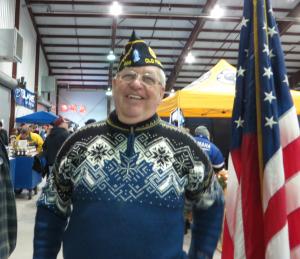 Commander Bill Ransom of American Legion Post 893