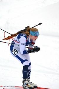 Biathlete Maddie Phaneuf