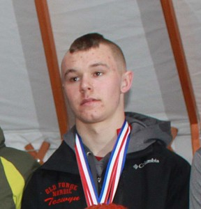 Webb Nordic Skier Tecwyn Williams earned a spot on the NY State Team