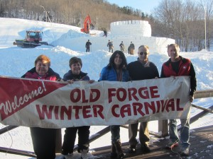 Lynda Kellogg, Diane Heroux, Laurie Barkauskas, Tim Foley, and Nick Bankert.