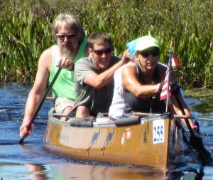 Rich Nelson, Brian Schoen and Joanne Maly