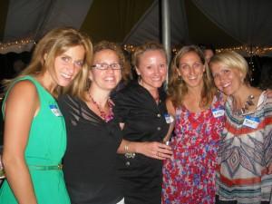 Kristen Helmer, Kate Russell, Lauren Sykes Melton, Katie Langworthy and Karen Sykes Bontemps.