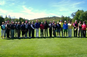 ABOVE: The Christy Cup Players. Thendara Team: Sheila White, George Meeker, Ted Riehle, Jim Holt, Jerry Britton, John Hopsicker, John O'Donnell, Kathy Nahor,  Tony Baratta, Scott deCamp, Tim White, Rich Chapman. Inlet Team: Mike Beck, Tom Slocum, Lowell Seifter, Steve Young, Margy Lind, Bob Philipson, John Macbeth,  Alex Egresits, Bob Galliher, Dave Curtis, Steve Schanley, and  Miyako Schanley.