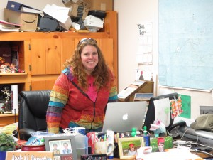 Inlet Tourism Director,  Adele Burnett