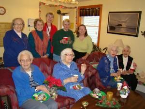 A Bloomin' Good Time - Enjoying the Garden Club program were: Dorothy Walker, Lorraine Sienka, Joyce Leszyk, Shirley Cornish, Phoebe Greene. Front row, from left: Alice Achter, Liza Maio, Jean Gaudin, and Char Pylman. Courtesy photos
