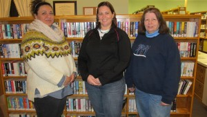 New Trustees, from left, Mona Todd, Teresa Nickerson and Maureen Weber. Courtesy photo