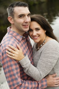 Justin Dibble and  Erika Grueniger