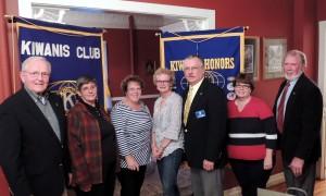 Bob Van Slyke, Jane Slack, Linda Bamberger, Penny Stuart, Duane Neimi, Dee Kraft and Mike Griffin. Courtesy photo