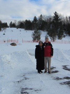 Diane and Chris Gaige at Maple Ridge. Photo by Gina Greco