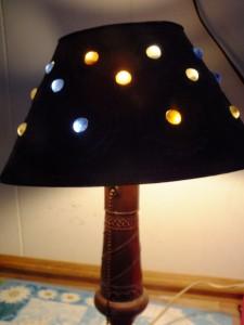 A lamp creation of artist Bernard Hemmer