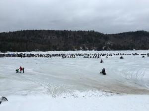 Big Moose Lake from The Big Moose Inne. Photo by Jim Huss