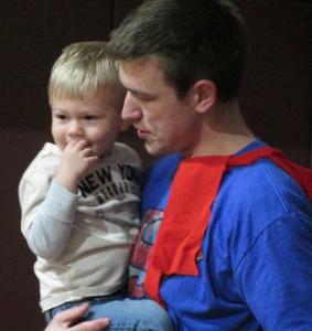 Garrett and Principal  John Swick
